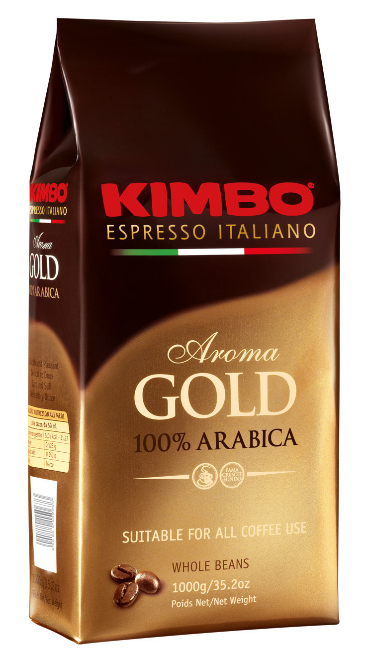 картинка KIMBO GOLD ARABICA от магазина Coffee-live